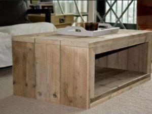 Steigerhout tafel maken