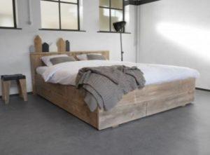 Steigerhout bed maken tips en advies om snel aan de slag for Bed van steigerhout maken