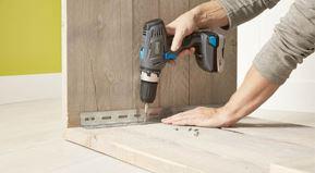 steigerhout bureau maken